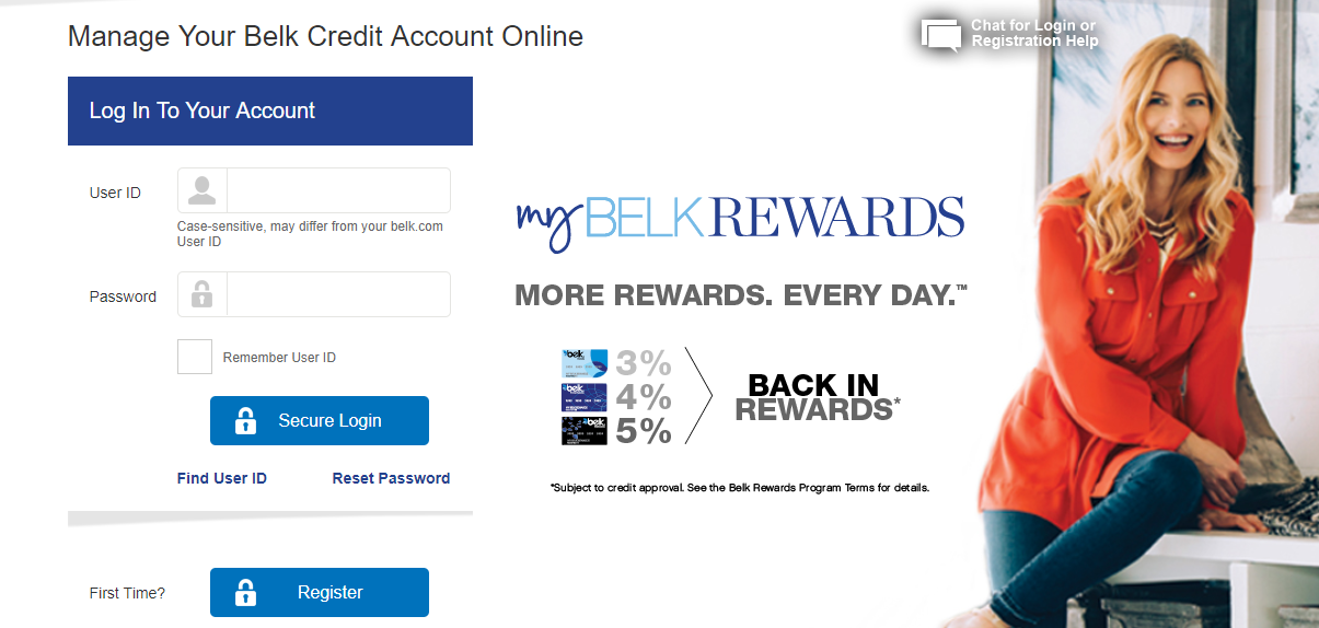 Www.belkcredit.com