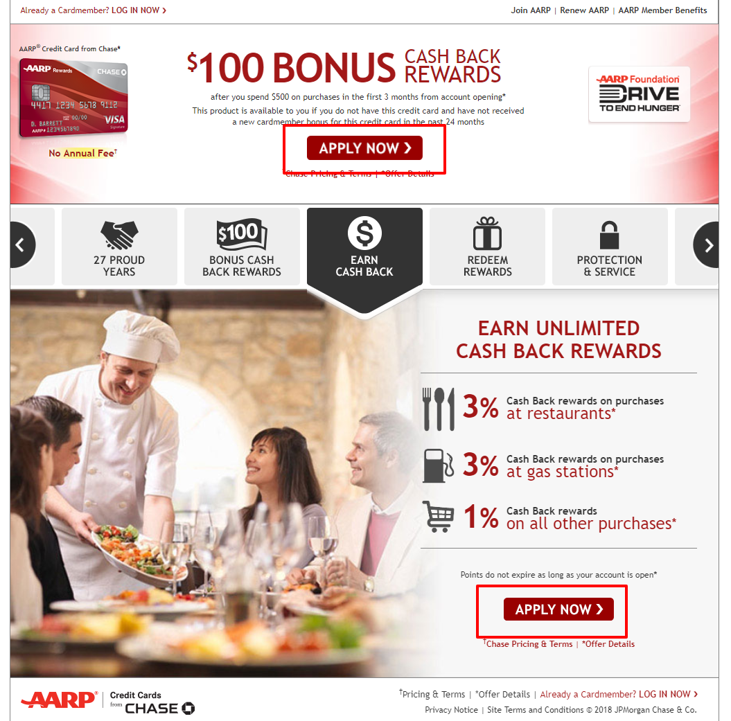 Apply For AARP Credit Card From