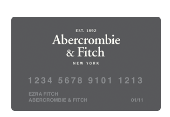 Abercrombie Fitch Credit Card