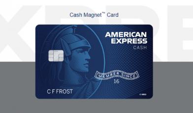 Amex Express Cash Magnet Card