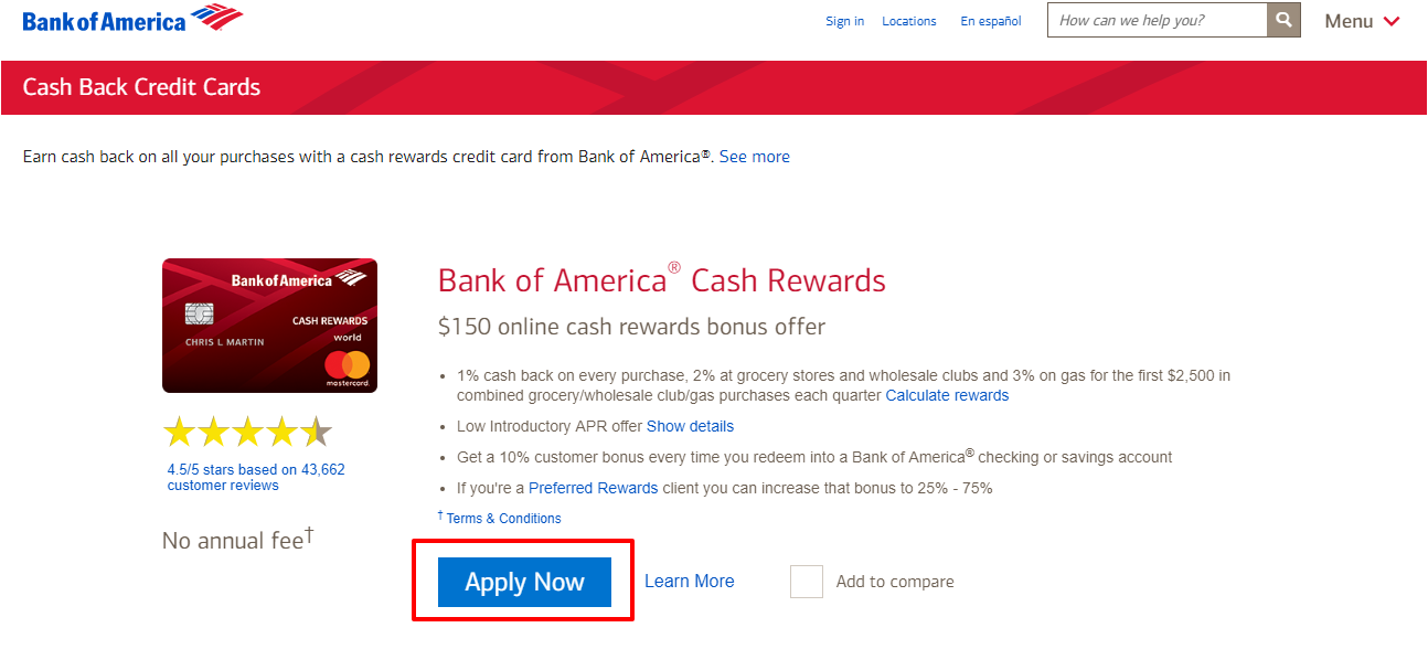 Cash Back Credit Cards Cash Rewards Credit Cards
