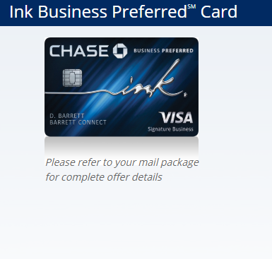 Www Getinkpreferred Com Apply For Chase Ink Business Preferred Card Credit Cards Login