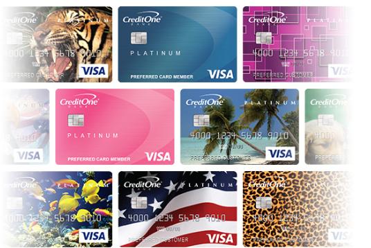 credit one bank credit card login page