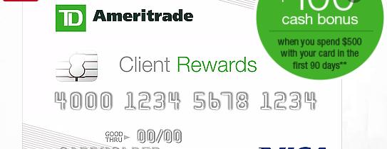 TDAmeritrade card