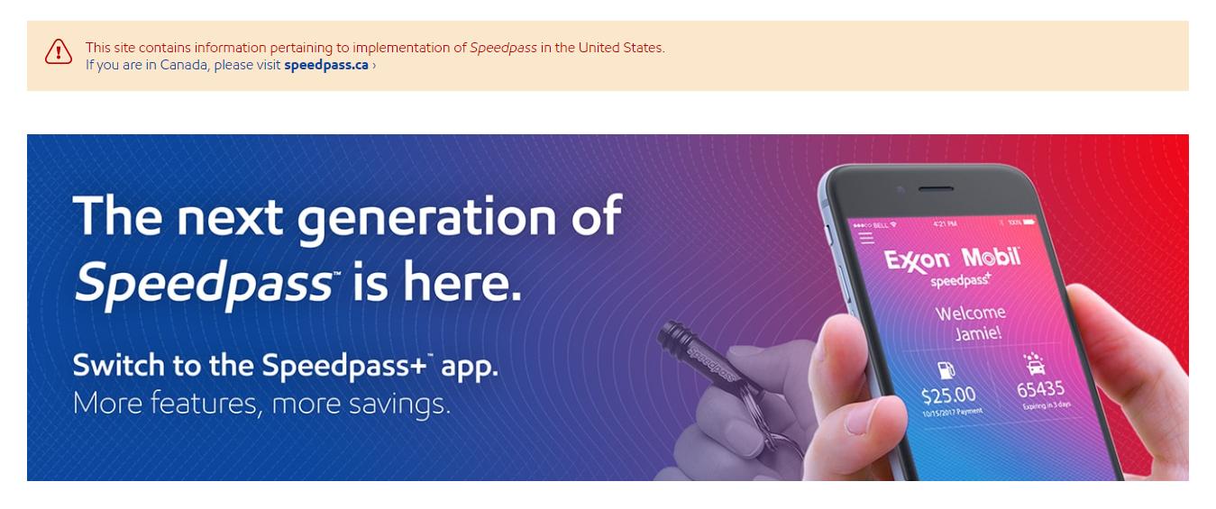 Speedpass app