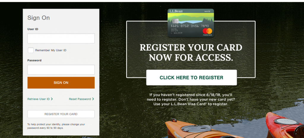 LL Bean Credit Card Login | Welcome to Card Servicing ...