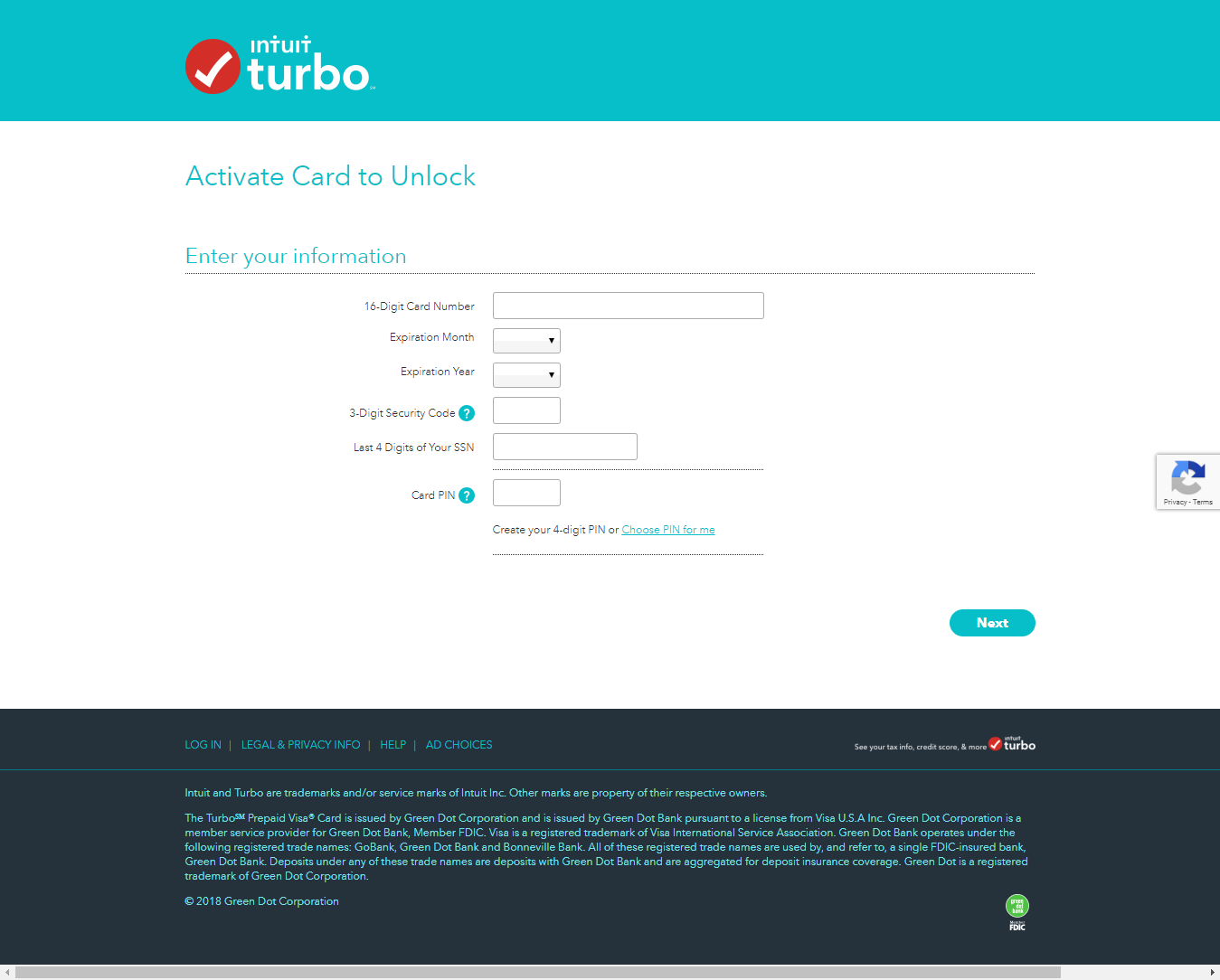 Activate Your Turbo Prepaid Card