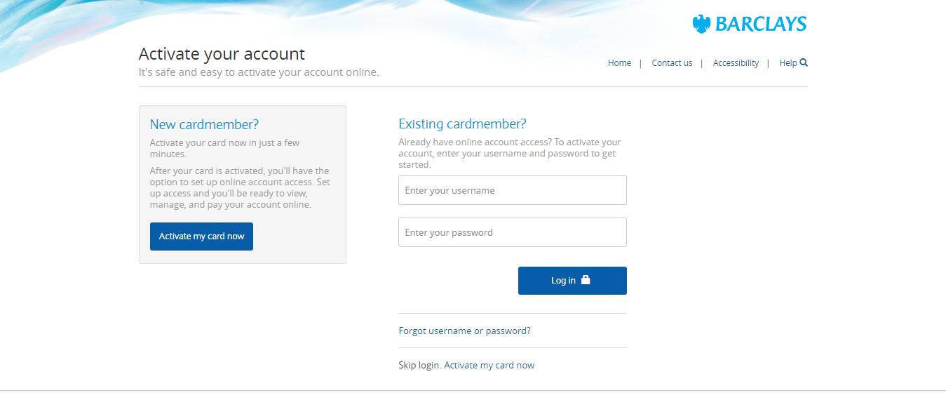 Barclays Priceline Rewards Visa Card Activation