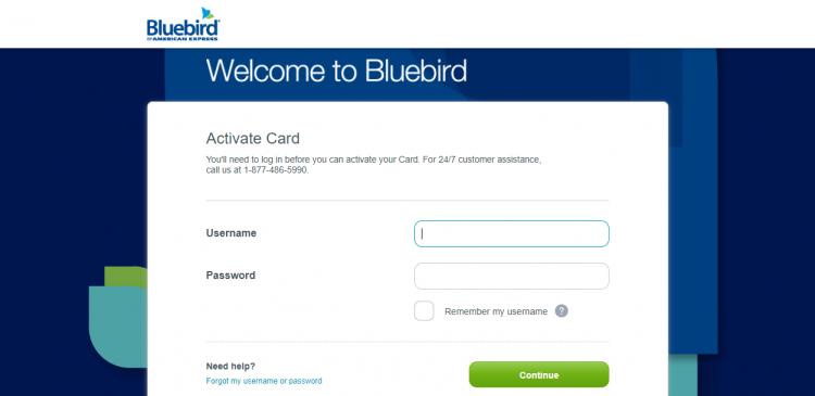 Bluebird from American Express