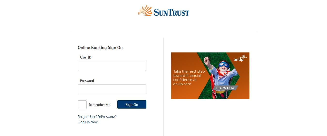 SunTrust Credit Card Login