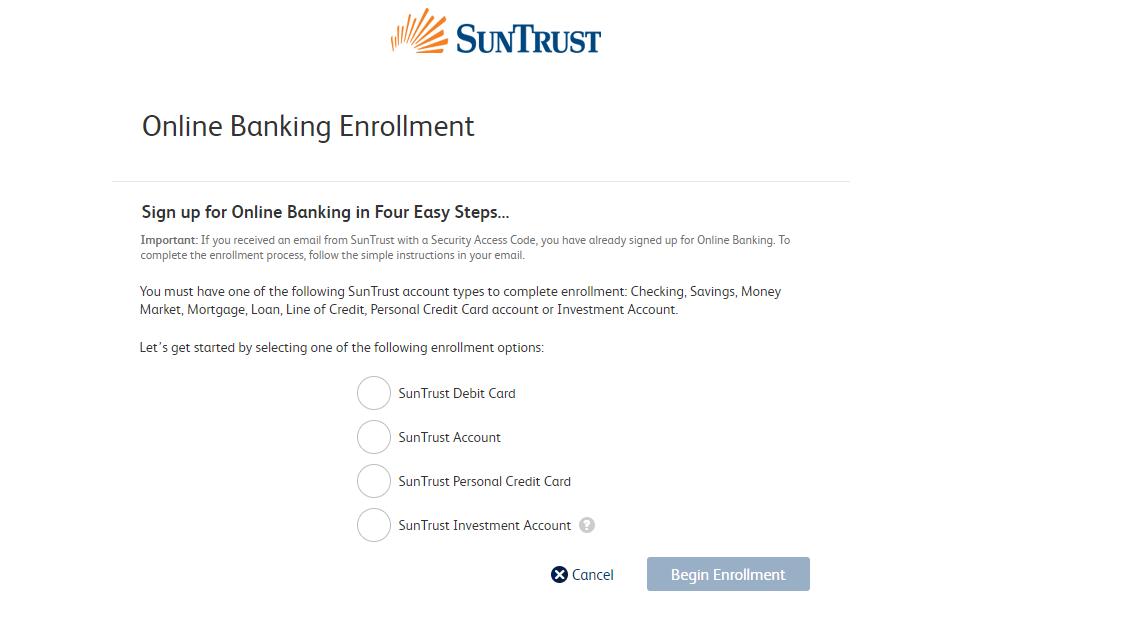 SunTrust Online Banking
