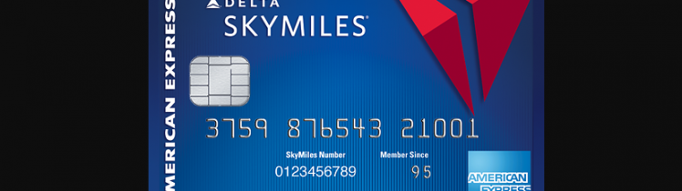blue delta skymiles credit card