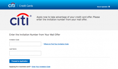 Apply for a credit card Citi com