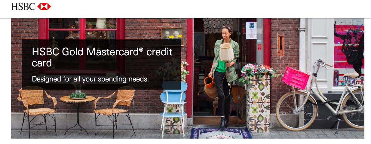 HSBC credit card application Personal Details