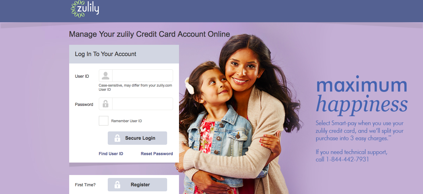 Manage Your zulily Credit Card Account