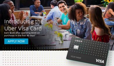 Uber Visa Credit Card