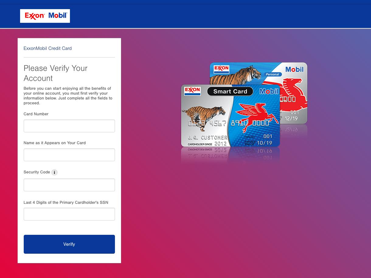 www exxonmobilcard com - Exxon Mobil Credit Card - Credit