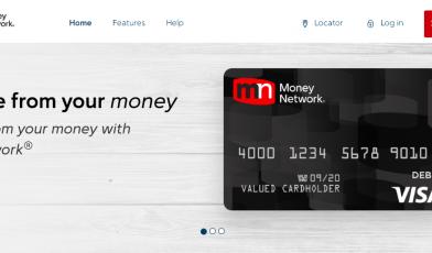All Purpose Prepaid Debit Card Money Network®