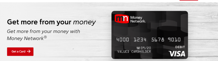 All Purpose Prepaid Debit Card Money Network®
