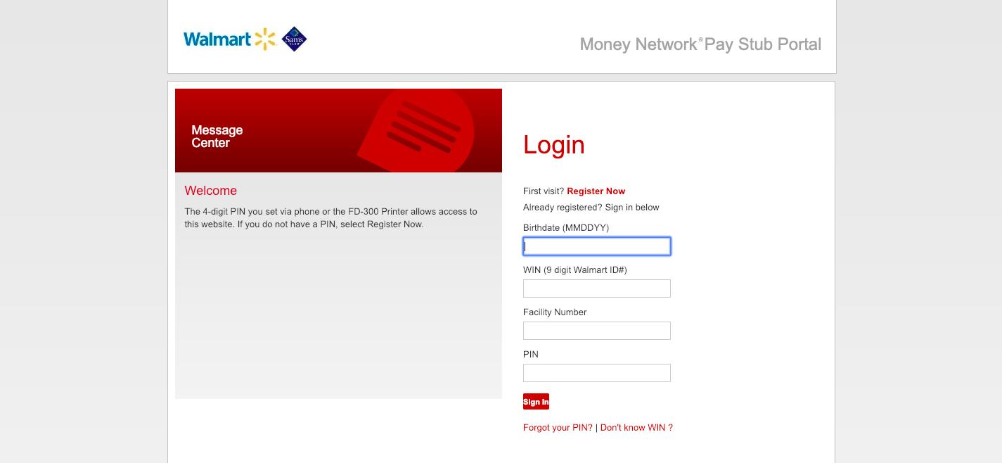 Pay Stub Portal