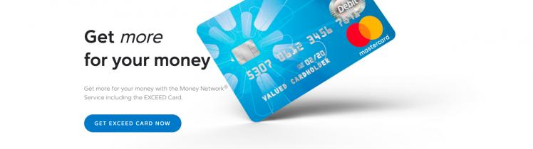 Walmart Money Network Exceed Card
