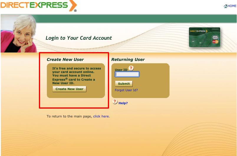 Direct Express MasterCard