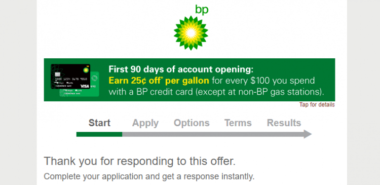 BP Apply for the BP Credit Card