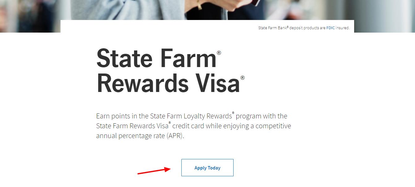Rewards Visa Credit Card State Farm Bank