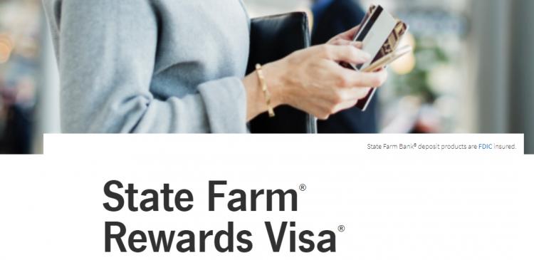 State Farm Visa Card Logo