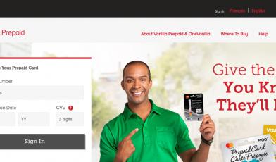Vanilla Prepaid Card Logo