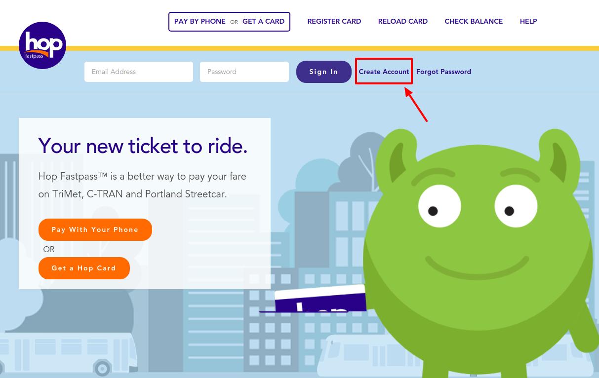 Hop Fastpass Transit Fare Card Apply