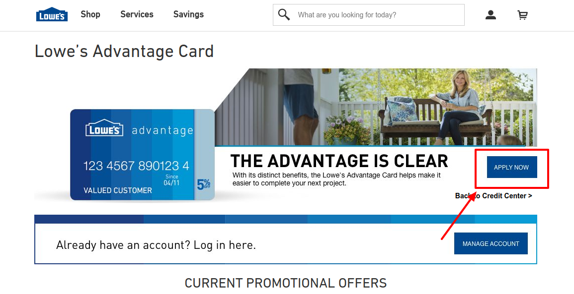 Lowe s Advantage Card Apply