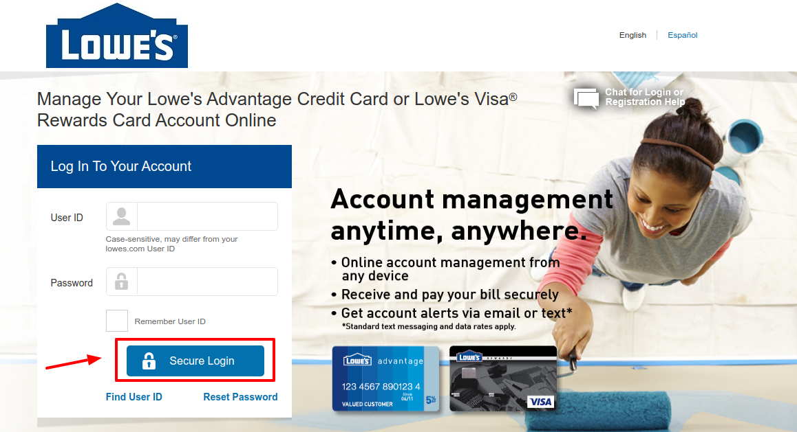 Lowe s Credit Card Account Login