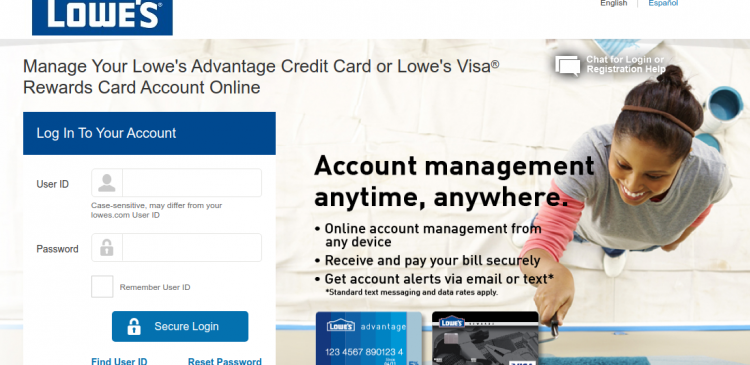 Lowe s Credit Card Logo