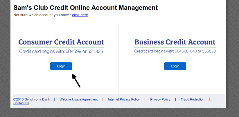 Sam s Club Credit Card Login