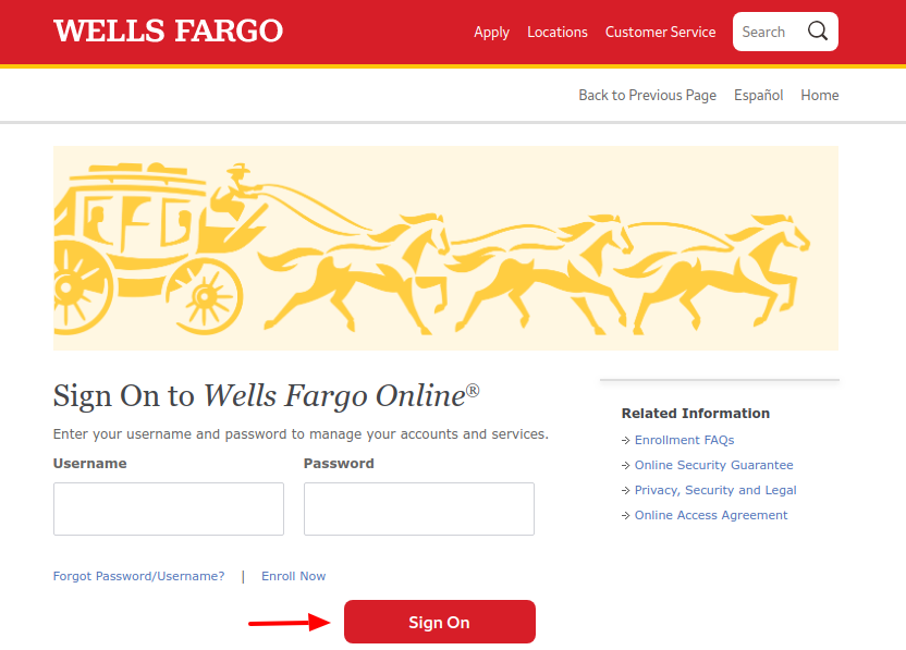 Wells Fargo Credit Card Sign In