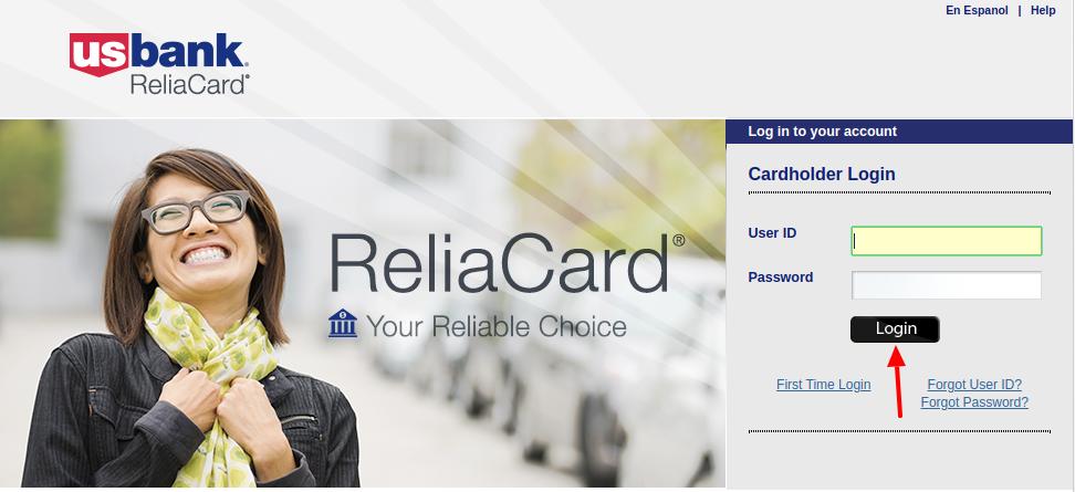 U.S. Bank ReliaCard Login