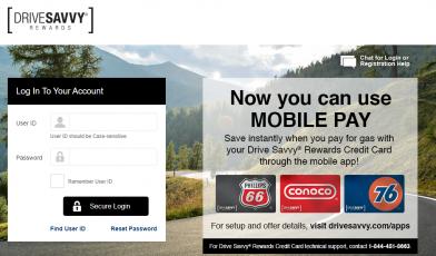 Drive Savvy Rewards Credit Card Logo
