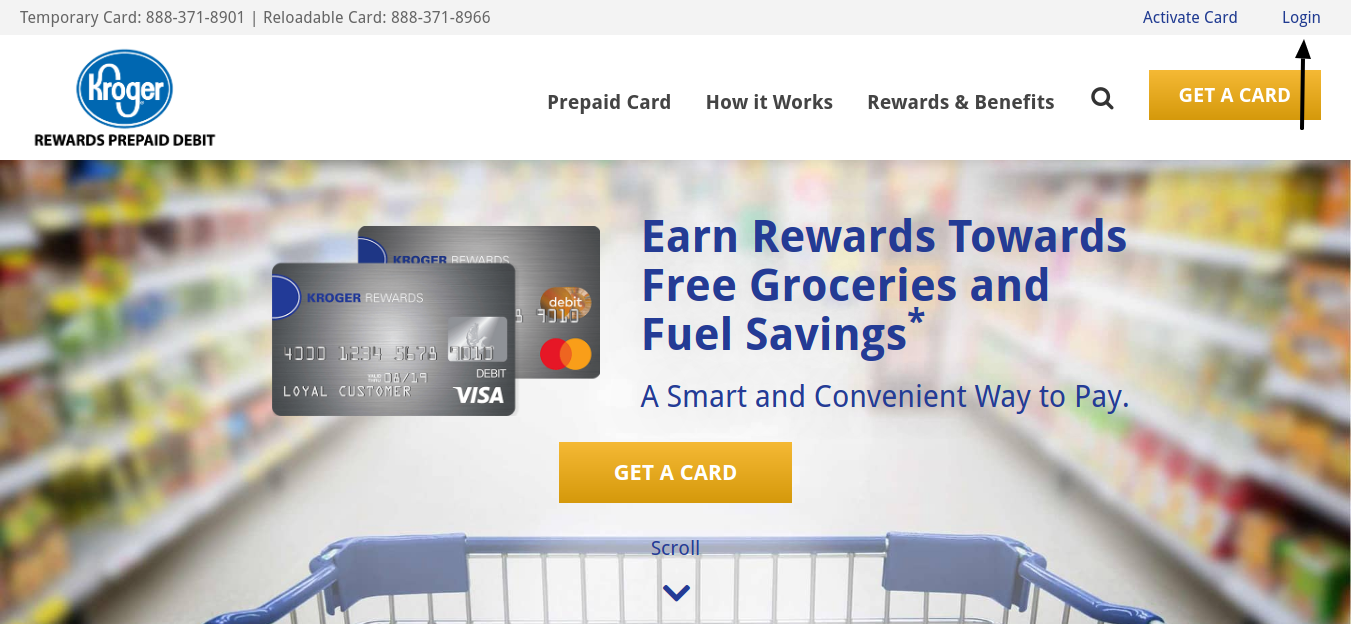 Kroger-Prepaid-Debit-Card-Login