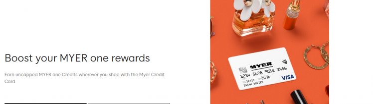 MYER Credit Card Logo