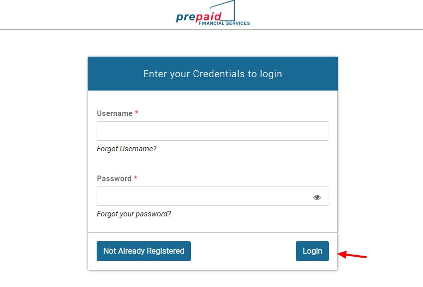 PFS Client Portal Login