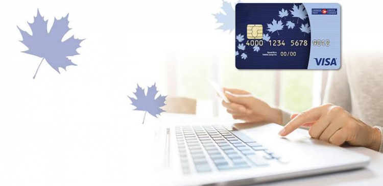 canada post prepaid card logo