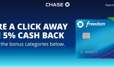 Chase Freedom Logo