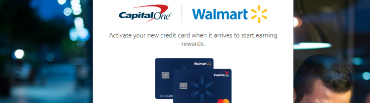 Walmart Capital One Logo