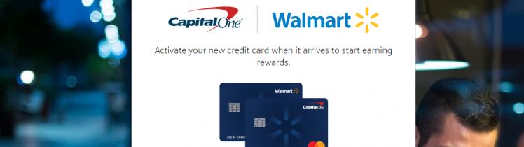 activate tarjeta walmart capital one