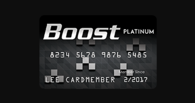 Boost Platinum Card Logo