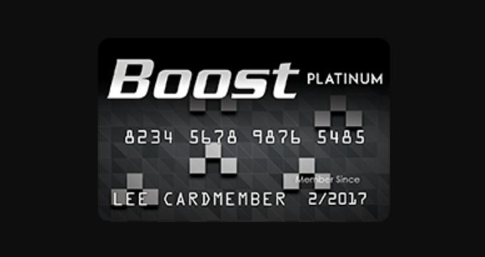 Boost Platinum Card Logo