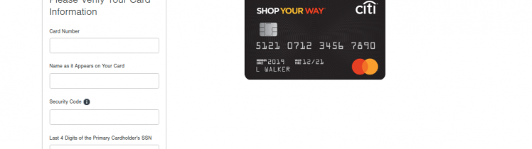 Citi Mastercard Registration