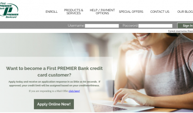 First Premier Bank Card logo
