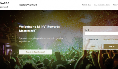 M life Rewards Mastercard Logo